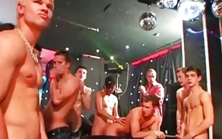 homosexual guys drilled whilst wrestling in cream