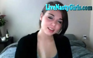 in nature cams - shy teen disrobes and