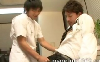 doctor with a male nurse