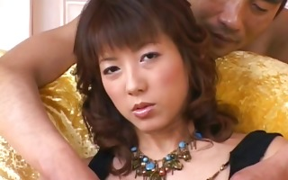 hiromi aoyama receives love button brushed