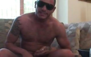 super sexy tattooed boy jerking part4