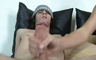 slutty hunks tugging each others hard dicks