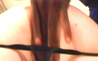 daisy mclane takes a bbc up her little arsehole