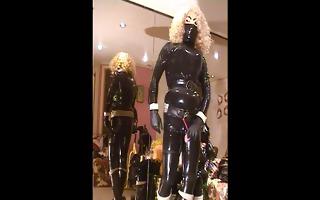 roxin perv in rubber