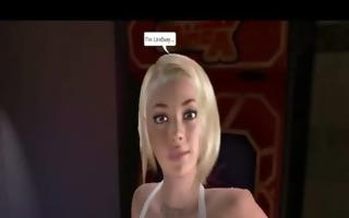 demonstration of models for 3d toon sex game