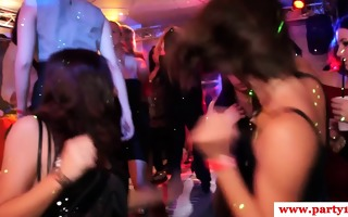 real euro amateurs show upskirt on dancefloor