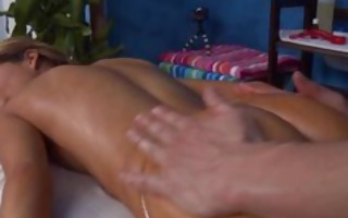 hot and sexy golden-haired 18 year old receives