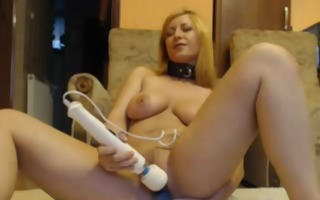 masturbating blond mother i with large tits
