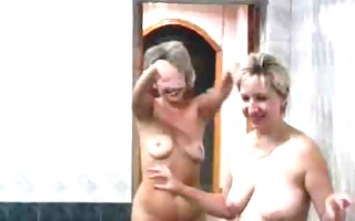 russian matures served on sauna.(2)