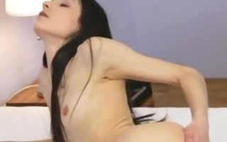 black stocking and chicks pussy rubbing