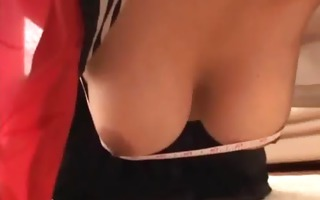 horny large tits sweet asian receive hardcore