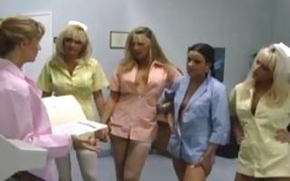 cute lesbian nurses gangbang licking part2