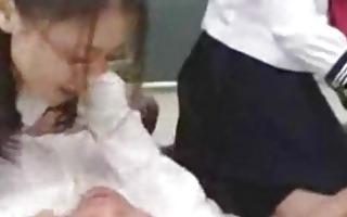favourable japanese teacher teaches students part1