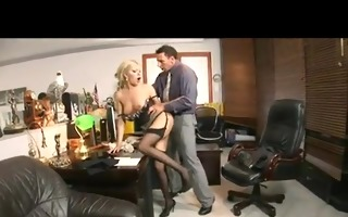 donna bell gets fucked at the office by her boss