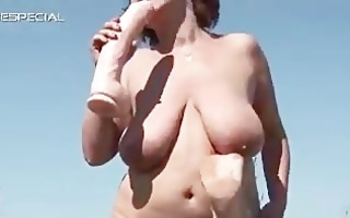 horny milf receives her curly muf drilled part6