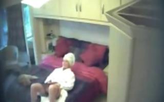 morning masturbation my mom on spy webcam