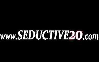 seductive woman and her masturbation