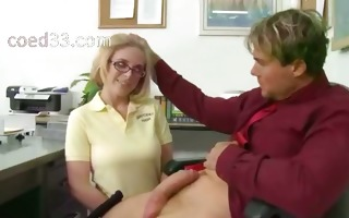 great orall-service with a juvenile student