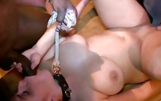 sexy glamorous girl dominated and fucked