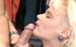 german blond facial