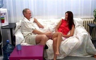 czech sweetheart claudia rossi discharges a scene