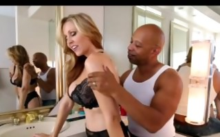 large titty blond takes care of massive dick 1