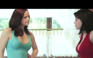 lesbos share a dildo