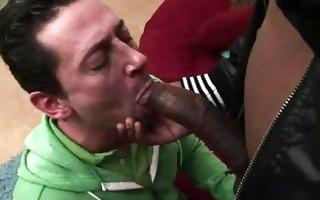 interracial large black dick engulfing