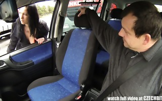 whore milf receive paid for car fuck