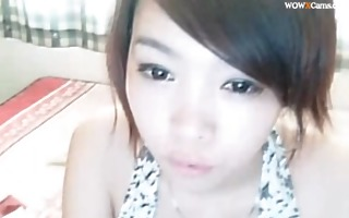 hawt chinese gal on livecam show