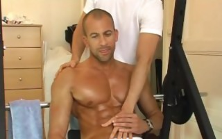 latino huk receive wanked his giant cock by me!