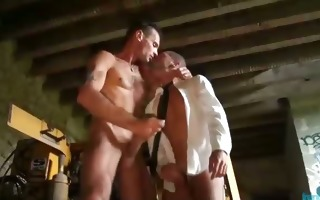 hot french homosexual studs suck cock hard and