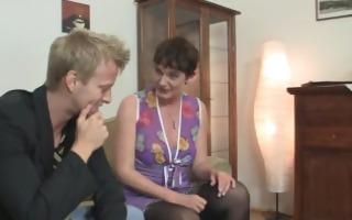 hot sex with slutty granny