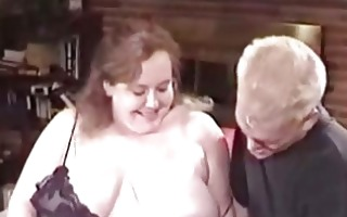 big beautiful woman in underware receives screwed