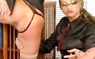 femdom fetish three-some oral-stimulation and fuck