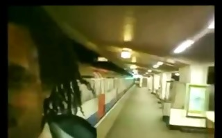 upskirt subway