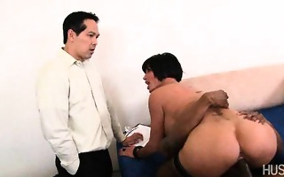 white wife snatch pounded by darksome rod