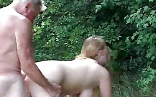 extreme busty playgirl gets screwed by an old chap