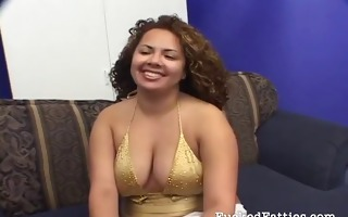 hot chubby hotty getting dicked hard
