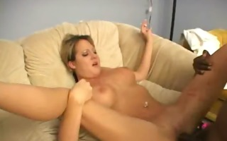 horny wife slut cheats with a monster blacl cock