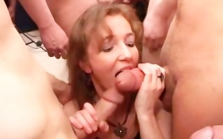 wild group sex with many cocks