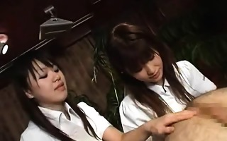 subtitled cfnm japanese anal massage by tagteam