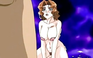 busty anime mommy