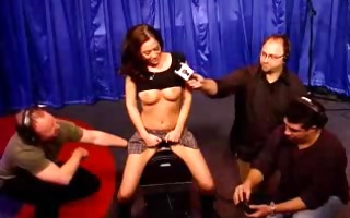 cassia on howard stern rides sybian - have a fun