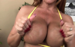 naughty woman fisting herself