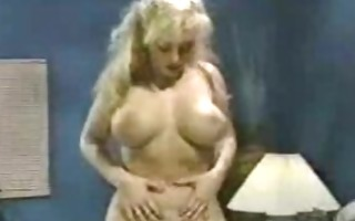 slutty fishnet milf sucks and tittyfucks