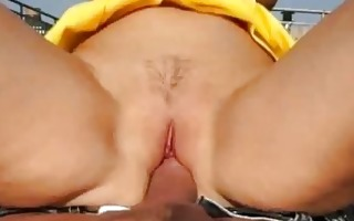breasty real amateur chick fucked for specie