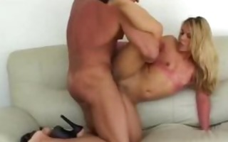 hawt butt blond gets pounded repeatedly