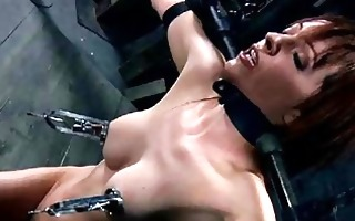honey in latex dress acquires punished