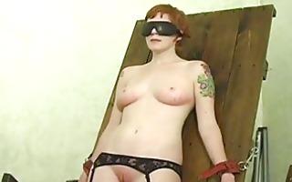 slave hogtied in her pants